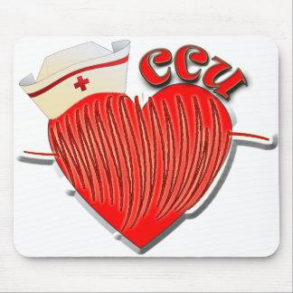 CCU NURSE CARDIAC CARE UNIT MOUSE PAD
