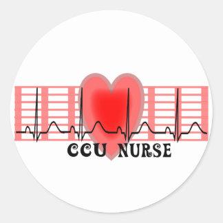 Cardiac Icu Nurse Stickers | Zazzle