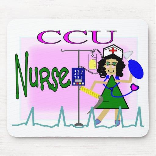 ccu nurse mouse pad