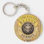 ccw badge design key chains