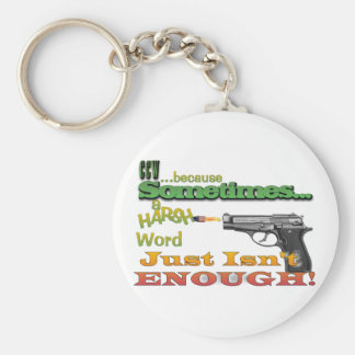 CCW - CONCEALED CARRY - GUNS - MOTTO KEYCHAIN