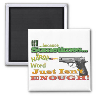 CCW - CONCEALED CARRY - GUNS - MOTTO MAGNET