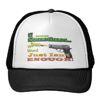 CCW - CONCEALED CARRY - GUNS - MOTTO TRUCKER HAT