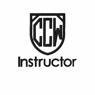 CCW Instructor Embroidered Polo Shirt