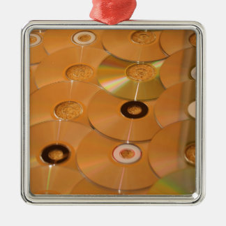 cd #2 metal ornament