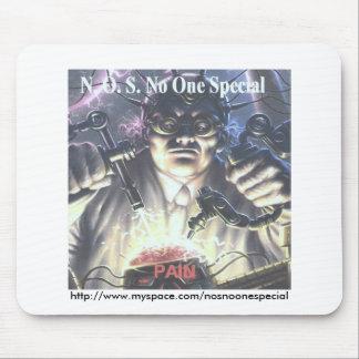 CD #7 Pain 001, http://www.myspace.com/nosnoone... Mouse Pad