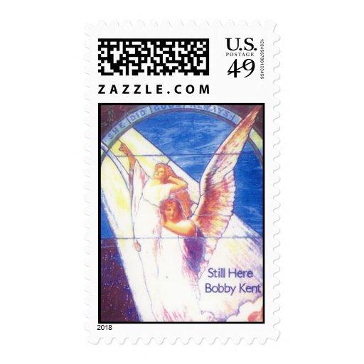 CD art for Bobby Kent's Gospel CD Stamp