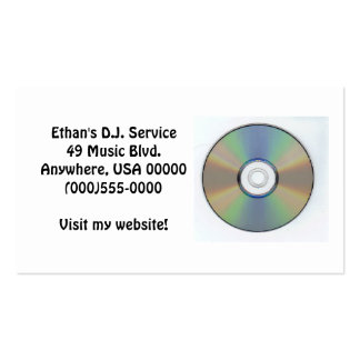 """""""CD"""" Business Cards"""