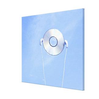 CD CANVAS PRINT