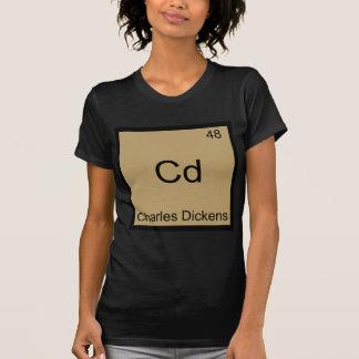 Cd - Charles Dickens Chemistry Element Symbol Tee