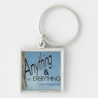 """CD Cover Art """"Anything & Everything"""" Keychain"""