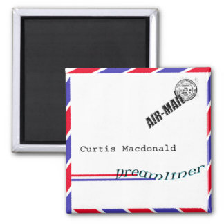 "CD Cover Art ""Dreamliner"" - Curtis Macdonald Magnets"