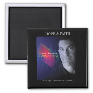 CD Cover Art - Everlasting - Hope & Faith Magnet