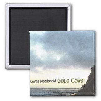 """CD Cover Art """"Gold Coast"""" 2 Inch Square Magnet"""