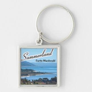 "CD Cover Art ""Summerland"" Keychain"