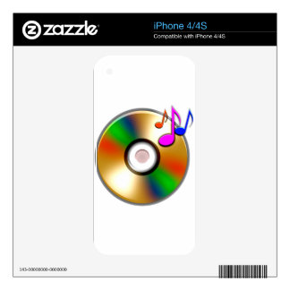 CD DECAL FOR iPhone 4