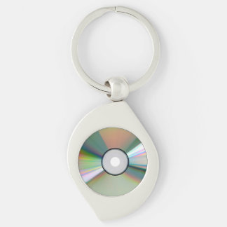 """""""CD"""" design gifts and products Keychain"""