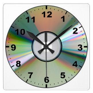 """""""CD"""" design wall clocks"""