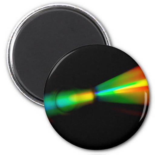 CD Detail 2 Inch Round Magnet
