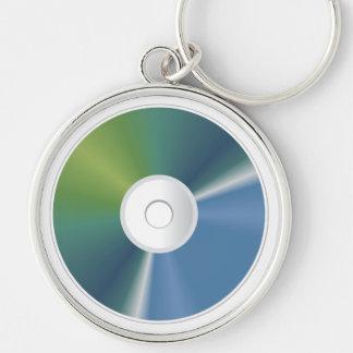CD DVD Data Memory Disc  Keychain