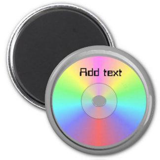 Cd/DVD Imanes Para Frigoríficos