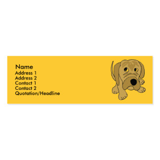 CD- Grumpy Puppy Business Card