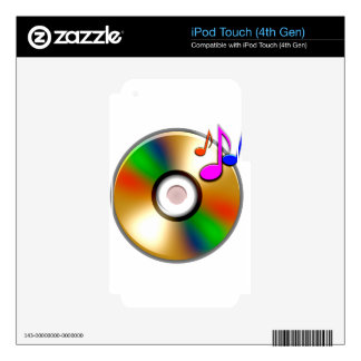 CD iPod TOUCH 4G SKINS