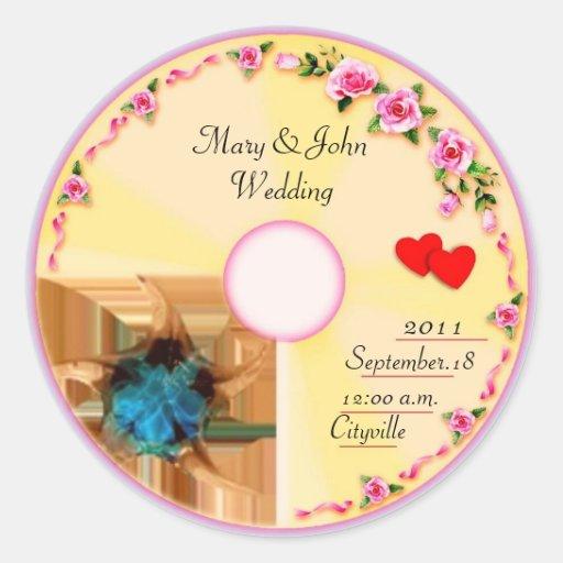 sticker for cd