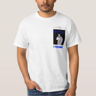 cd-logo-wt, blue, Tyranny T-Shirt
