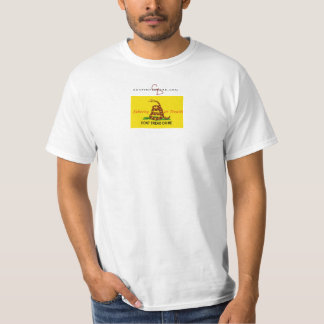 cd-logo-wt, treadonme copy T-Shirt