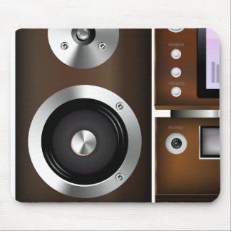 CD Player System Mouse Pad