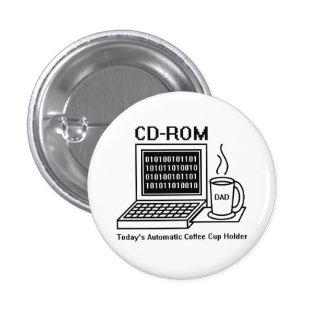 CD-ROM 1 INCH ROUND BUTTON