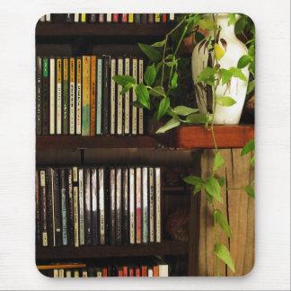 CD Shelves Mouse Pad