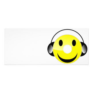 CD Smiley Personalized Invitations