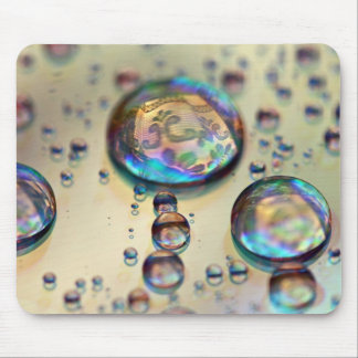 CD Waterdrops mousemat Mouse Pad