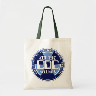 CDC Department of Homeland Zombie Security Tote Bag