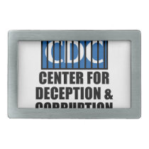 CDC Whistleblower Truth Anti-Vaccine SIDS VAXXED Belt Buckle