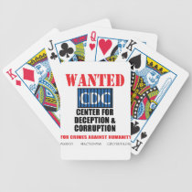CDC Whistleblower Truth Anti-Vaccine SIDS VAXXED Bicycle Playing Cards