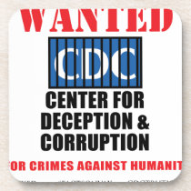 CDC Whistleblower Truth Anti-Vaccine SIDS VAXXED Coaster