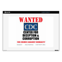 CDC Whistleblower Truth Anti-Vaccine SIDS VAXXED Decal For Laptop
