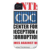 CDC Whistleblower Truth Anti-Vaccine SIDS VAXXED iPhone 4 Case