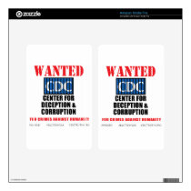 CDC Whistleblower Truth Anti-Vaccine SIDS VAXXED Skin For Kindle Fire