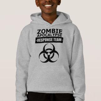 CDC Zombie Apocalypse Response Team Kids Hoodie