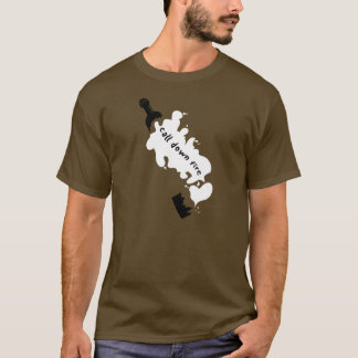 CDF Broken Bottle (Brown) T-Shirt