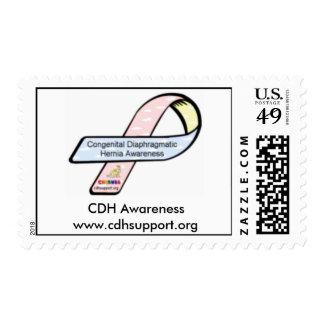 CDH Awareness Ribbon Postage Stamp