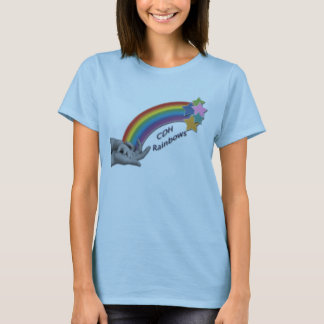 CDH Rainbows Ladies Fitted Baby Doll T-shirt