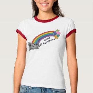 CDH Rainbows Ladies Ringer T-shirt