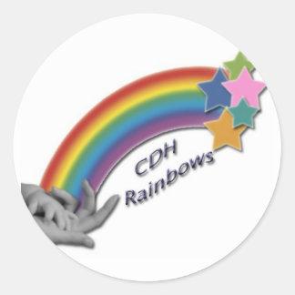 CDH Rainbows Small Sticker Sheet
