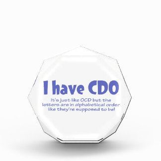 CDO ACRYLIC AWARD