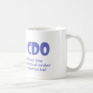 CDO COFFEE MUG